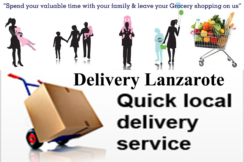 All types of Shoppings delivered to your door - We shop we drop Lanzarote Shoppings for you
