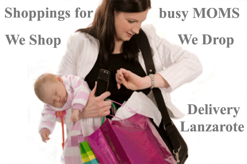 Shoppings for You Delivery Lanzarote - Save your Time and let us do the Shoppings - We Shop We Drop Delivery Lanzarote